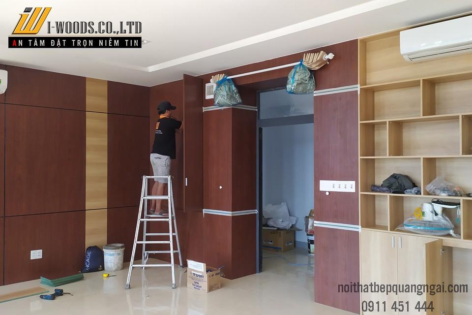 Dịch vụ thi công nội thất tại IWoods phù hợp cho cả công trình xây mới và tu sửa